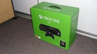 Unboxing & Setup: Microsoft Xbox One 1TB