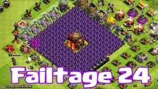Clash of clans FAILTAGE 24 (Because you deserve better)