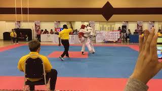 Taekwondo SUKIPT 2018- Syahmi vs Muhd Amyrul