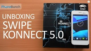 Swipe Konnect 5.0 Unboxing and Hands-on
