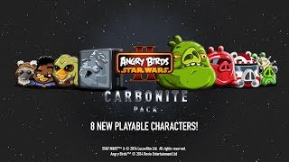 Angry Birds Star Wars 2: Carbonite Pack gameplay trailer