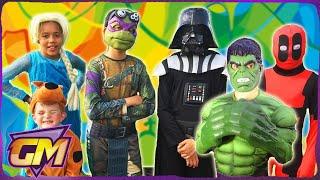 Olympics 2016: Spiderman, Star Wars, Elsa, Deadpool, Scooby Doo, Captain America and Ninja Turtles