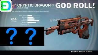 how to get cryptic dragon destiny