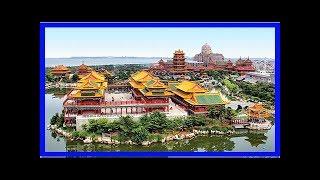 耗資32億打造出「秦始皇最愛的蓬萊仙山」內部超奢華!還供奉了「重達108噸臥佛」嘆為觀止!