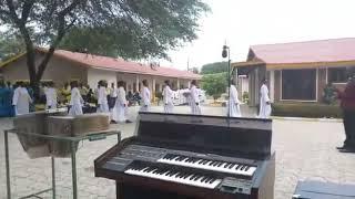 Kwaya mt Paul mtume Parokia ya Mtakatifu Petro mwanhuzi wakiwa kwenye mashindano ya kijimbo Jimboni