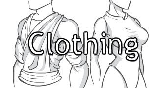 How to Draw Clothing (folds and creases)