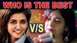 Priya Prakash Vs Rojalin Sahu ★ with mere raske kamar song ★ Who is the best