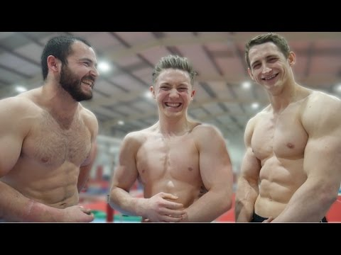 ULTIMATE GYMNASTICS CHALLENGE ep2 How many Muscle ups can we do