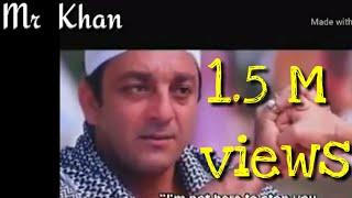 Sanjay Datt best dialogue Whatsapp Status video Sohel Khan