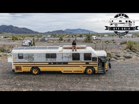 1.5 Years Into My School Bus Conversion From Purchase To Fully Liveable