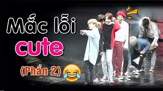 [BTS funny moments #25] Mắc lỗi CUTE ~ (Phần 2) (BTS cute mistakes)