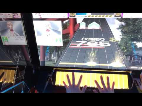 [CHUNITHM AIR PLUS]Witches night(MAS)ALL JUSTICE 手元動画