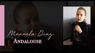 Manuela Diaz 6 ans chante