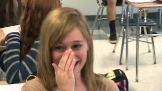 Emma's Barney Surprise