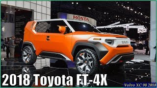 Toyota FT 4X 2018 - New 2018 Toyota FT-4X Concept First Look 2017 New York Auto Show