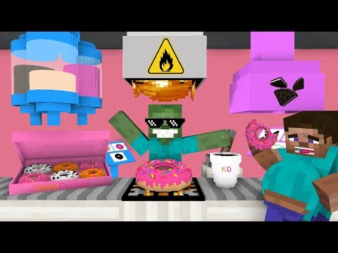 Xxx Mp4 Monster School WORK AT DONUT PLACE Minecraft Animation 3gp Sex