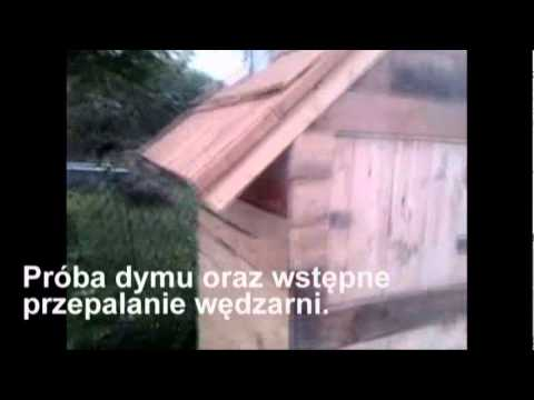 Jak zrobić drewnianą wędzarnię np. z desek