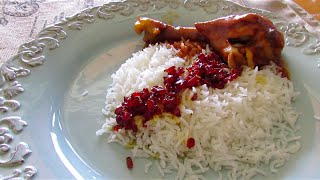 Barberry Rice with Chicken | Zereshk Polo | زرشک پلو