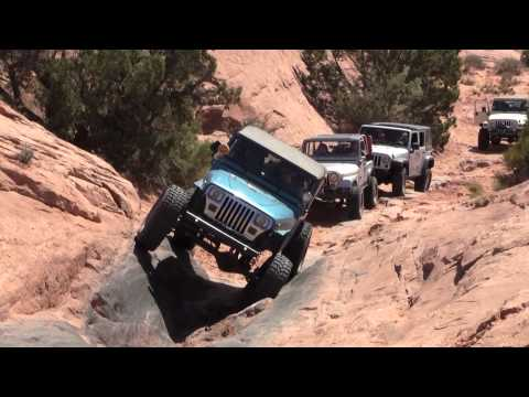 Moab Utah Triple Threat Part 1 (Poison Spider Mesa) - Moab EJS 2012