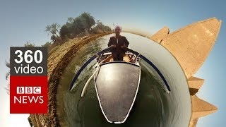 Damming the Nile in 360 Video: Episode 2 - BBC News