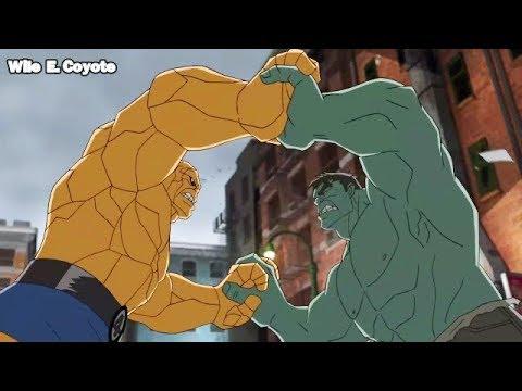 Xxx Mp4 La Mole Vs Hulk ♦ Los Vengadores Unidos T01E14 ♦ Español Latino 3gp Sex