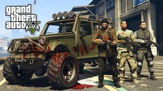 GTA 5 Zombie Apocalypse Mod #8 - ZOMBIE HUNTERS!! (GTA 5 Mods)