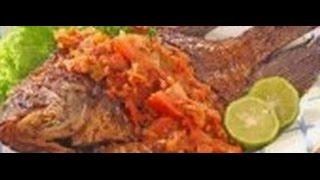 Resep Ikan Gurame Cobek