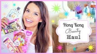 Hong Kong Beauty Haul!