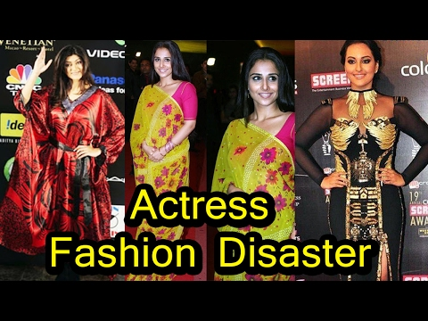 Fashion Disaster Of Bollywood Actress   2017