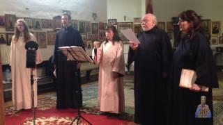 Coro (Collegium) Bulgaro Osanna - L'angelo gridò in slavonico ecclesiastico