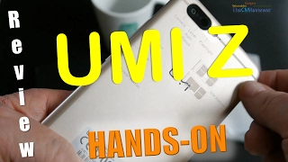 UMI Z Review Helio X27 2 x 13MP Samsung  Full Metal Unibody - Hands-on (Deutsch, engl. hints)