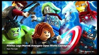 PSVita: Lego Marvel's Avengers Open World Gameplay (Video 2)