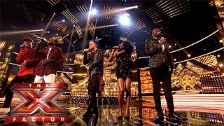 The Final 13 perform One Direction's Perfect | Week 1 Results | The X Factor 2015