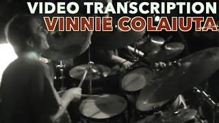Vinnie Colaiuta Baked Potato Live - FULL DRUM TRANSCRIPTION!