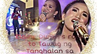 Elaine Duran's Road to Tawag ng Tanghalan (Audition)
