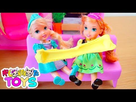 Xxx Mp4 ELSA ANNA SLIME La Zia Ha Portato I Regali Me Contro Te Toys 3gp Sex