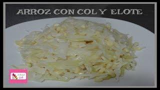 ARROZ CON COL Y ELOTE