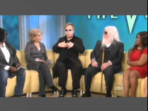 PART 1 of 2 ELTON JOHN & LEON RUSSELL on THE VIEW 10 21 10 chunk 1.avi