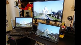 """AOC I1601FWUX review - 15.6"""" Full HD Portable Monitor with USB-C - By TotallydubbedHD"""