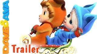 Ten Little Snowflakes - Trailer   Nursery Rhymes and Baby Songs from Dave and Ava