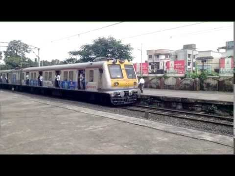 Superb Acceleration by Karjat Local at Neral Station