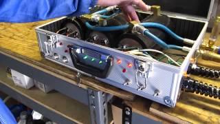 Volcano 5600 watt high pressure carpet cleaning heater Test 2