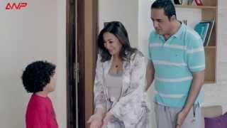 """مسلسل يوميات زوجة مفروسة أوي - في مشهد مضحك مع """" خالد سرحان """" وأولاده"""