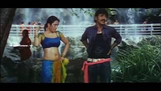 Actress Meenakshi Oil Massage Scene    Rajadhi Raja Movie    Sri Venkateswara Movies