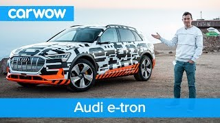 Audi e-tron - you'll be amazed how much it can recharge rolling downhill   carwow
