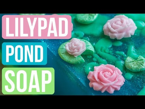 Rainy Lily Pad Pond Soap Royalty Soaps