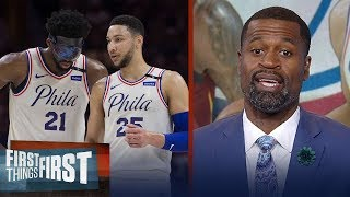 Stephen Jackson on why LeBron should join Embiid, Simmons on 76ers | NBA | FIRST THINGS FIRST