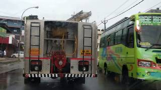 Fire Force driving in Kerala, good response | Fire Engine chasing in Kerala
