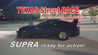 Texas Streets Race 🔥 - 750hp Supra -vs- 650hp WRX STI -vs- 600hp MR2 😱