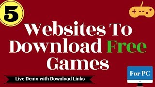 Gaming Websites: Download Free PC Games with live Proof in Hindi [Totally Free]